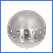 new design stainless steel ball and base 2